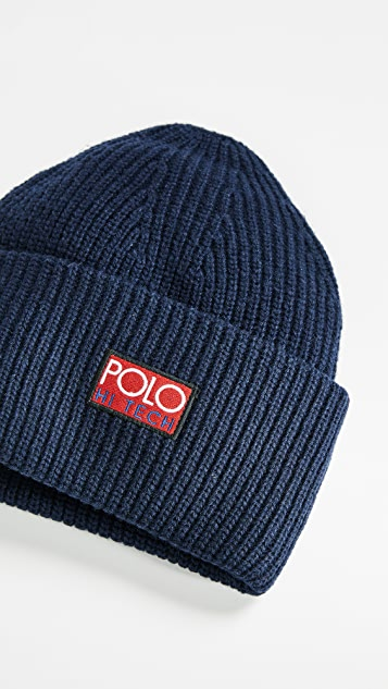 Polo Ralph Lauren Hi Tech Beanie   EAST DANE 9390f05ee06