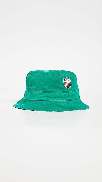 Polo Ralph Lauren Chariots Printed Bucket Hat
