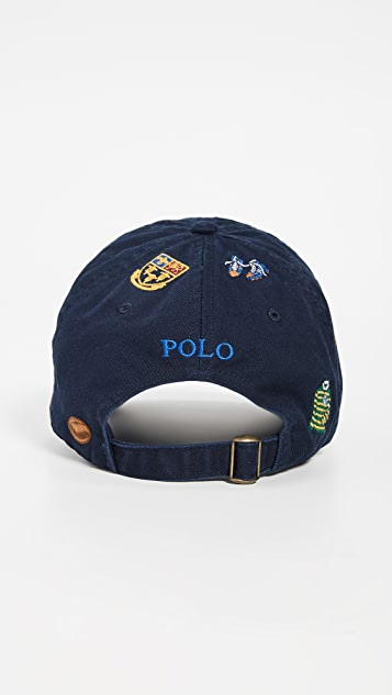 finest selection 89823 8c22c ... Polo Ralph Lauren Rugby Embroidered Cap ...