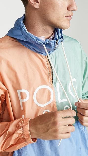c71574e63be0 Polo Ralph Lauren Nylon Colorblock Logo Anorak | EAST DANE