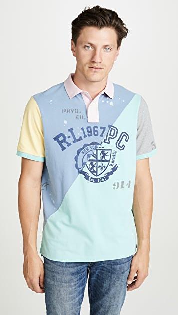 Polo Ralph Lauren Short Sleeve Patchwork Polo Shirt
