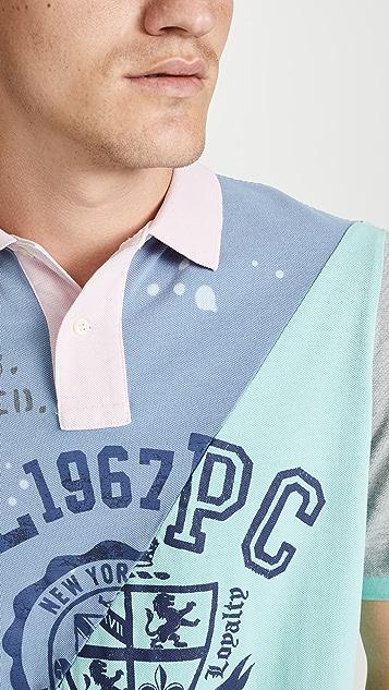 Polo Ralph Lauren Short Sleeve Patchwork Polo Shirt