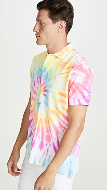 Polo Ralph Lauren Short Sleeve Tie-Dye Polo Shirt
