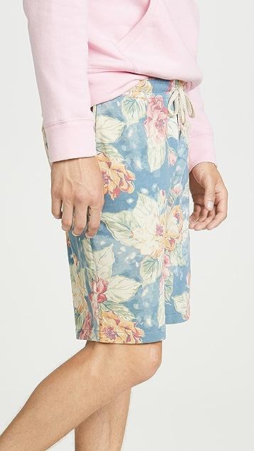 Polo Ralph Lauren Spa Floral Sweatshorts