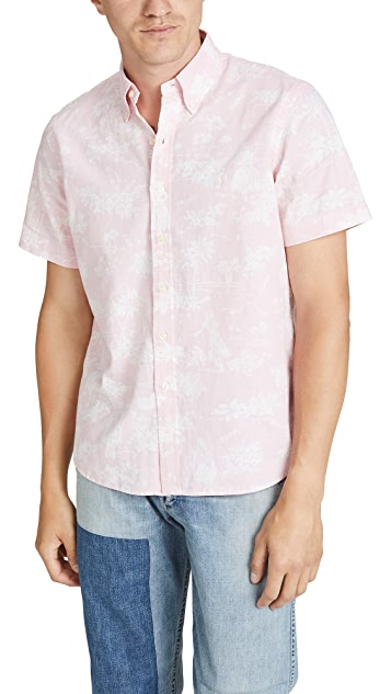 Polo Ralph Lauren Short Sleeve Poplin Shirt