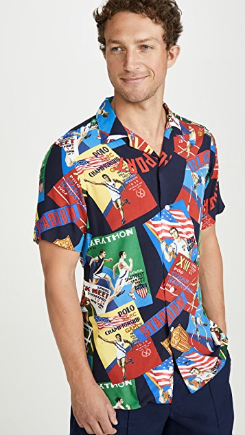 Polo Ralph Lauren Chariots Short Sleeve Shirt
