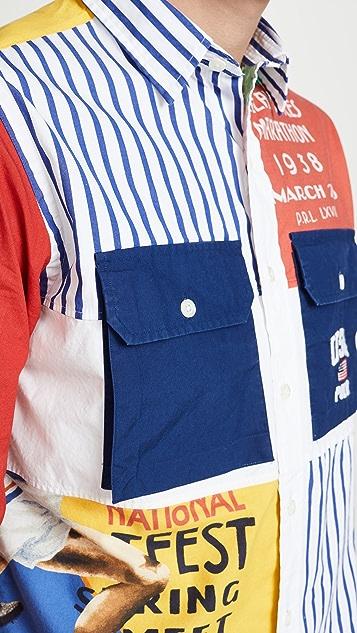 Polo Ralph Lauren Chariots Patchwork Shirt