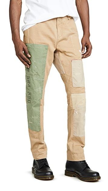Trousers Trousers Patchwork Surplus Surplus Patchwork Trousers Patchwork Surplus Patchwork EHD9W2IY