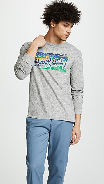 Polo Ralph Lauren Great Outdoors Long Sleeve Classic Fit Tee
