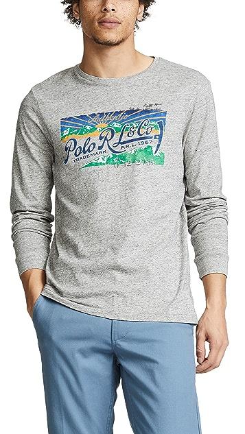 Polo Ralph Lauren Long Sleeve Classic Fit Tee