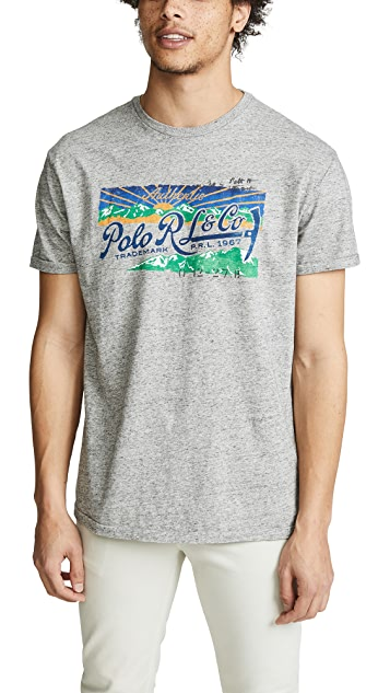 Polo Ralph Lauren Great Outdoors Short Sleeve Classic Fit Tee