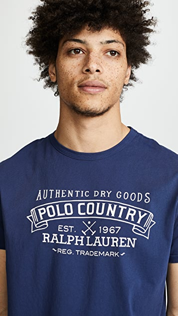 Polo Ralph Lauren Great Outdoors Polo Country Tee Shirt
