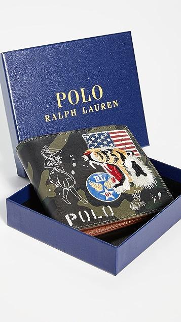 Polo Ralph Lauren Military Tiger Bifold Wallet