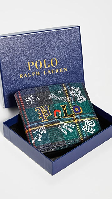 Polo Ralph Lauren Preppy Polo Tartan Bifold Wallet