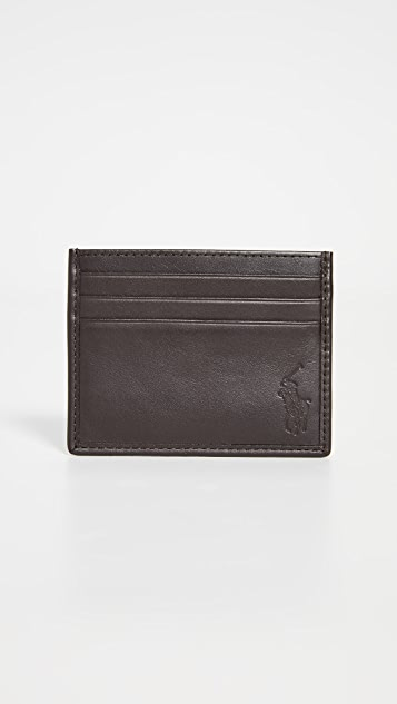 Polo Ralph Lauren Classic Leather Card Case