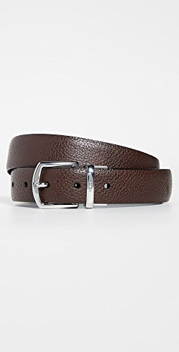 Polo Ralph Lauren - 30mm Reversible Pebbled Leather Dress Belt