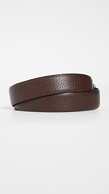 Polo Ralph Lauren 30mm Reversible Pebbled Leather Dress Belt
