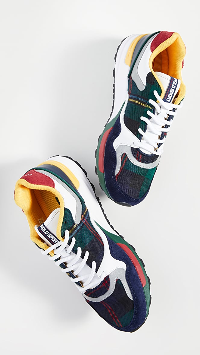 check out 98726 fe843 Polo Ralph Lauren Trackstar 100 Sneakers   EAST DANE