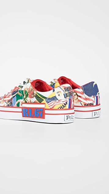 Polo Ralph Lauren Chariots of Fire Sayer Sneakers