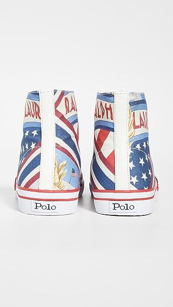 Polo Ralph Lauren Chariots of Fire Solomon II High Top Sneakers
