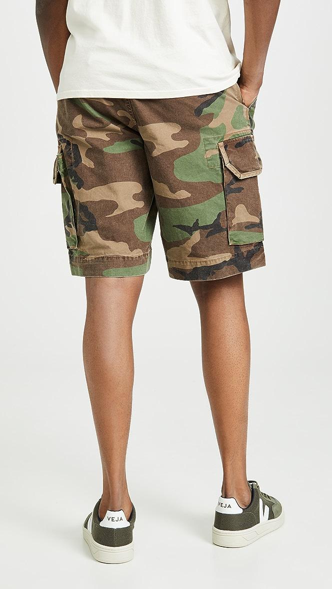 fri leverans helt ny 100% autentisk Polo Ralph Lauren Camo Gellar Cargo Shorts | EAST DANE