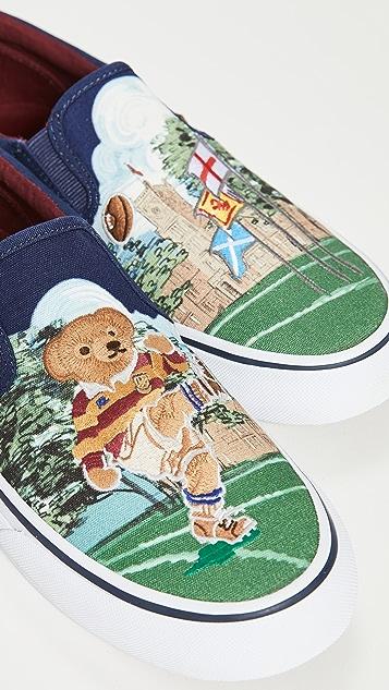 Polo Ralph Lauren Thompson Polo Slip On Sneakers