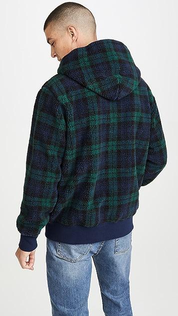 Polo Ralph Lauren Blackwatch Plaid Full Zip Hoodie