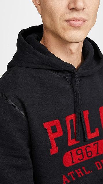Polo Ralph Lauren Vintage Fleece Pullover Hoodie