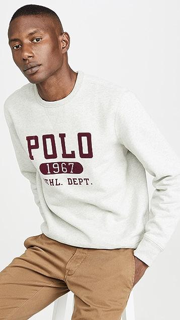 Polo Ralph Lauren Vintage Fleece Crew Neck Sweatshirt