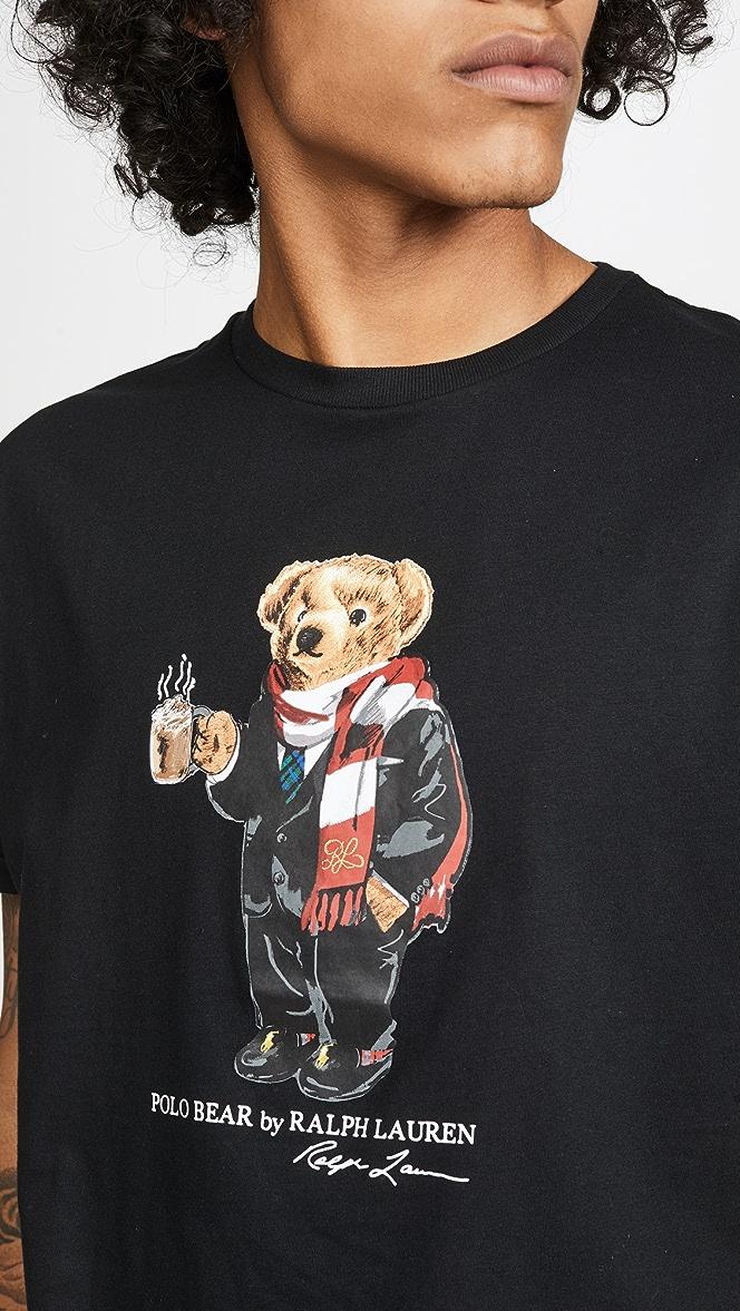 Polo Ralph Lauren Polo Bear Short Sleeve T-Shirt | EAST DANE