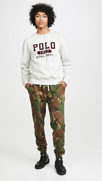 Polo Ralph Lauren Lightweight Athletic Fleece Pants