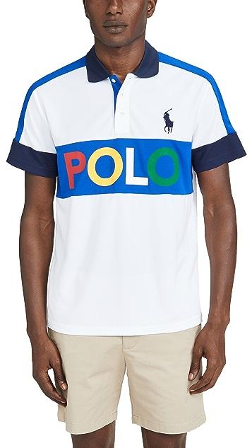 Polo Ralph Lauren Multi Color Logo Polo Shirt