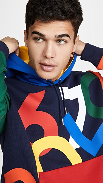 Polo Ralph Lauren Multi Color 67 Logo Hoodie