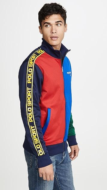 Polo Ralph Lauren Colorblock Track Jacket