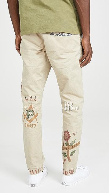 Polo Ralph Lauren Compact Boating Khaki Pants