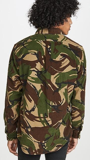 Polo Ralph Lauren Printed Corduroy Button Down Shirt
