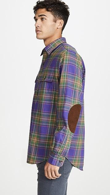 Polo Ralph Lauren Twill Plaid Button Down Shirt