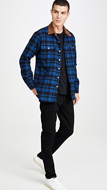 Polo Ralph Lauren Wool Plaid Shirt Jacket