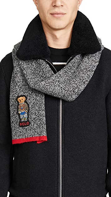Polo Ralph Lauren Hiking Bear Scarf