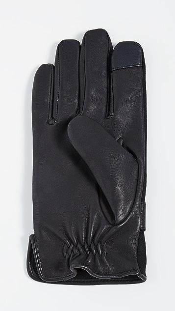 Polo Ralph Lauren Wool Melton Hybrid Gloves