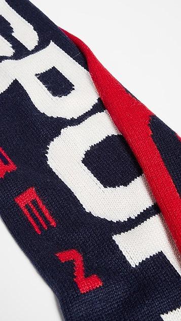 Polo Ralph Lauren Polo Sport Colorblock Knit Scarf
