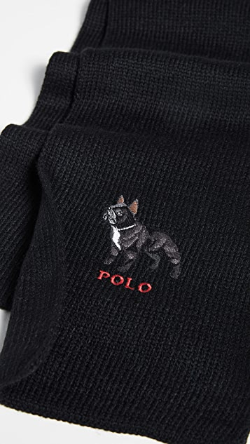 Polo Ralph Lauren French Bulldog Scarf