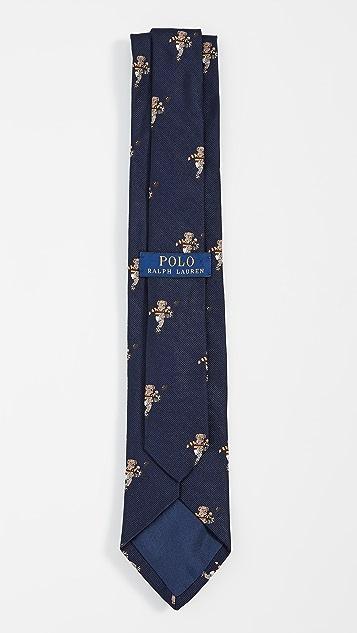 Polo Ralph Lauren Rugby Kicker Bear Tie