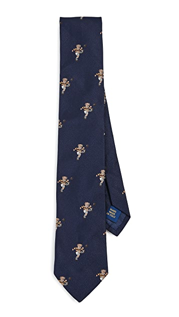 Polo Ralph Lauren Rugby Kicker Bear Tie