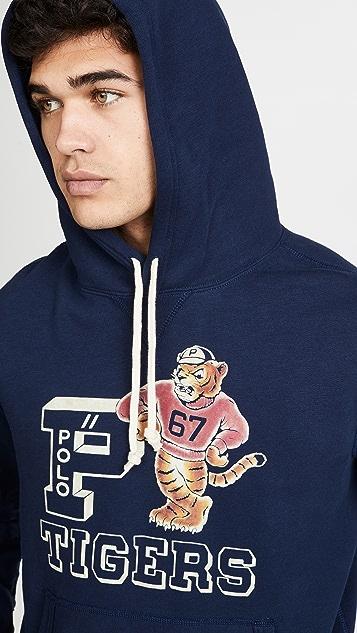 Polo Ralph Lauren Vintage Fleece Tiger Hoodie