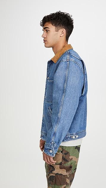 Polo Ralph Lauren Corduroy Collar Dungaree Jacket