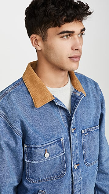 Polo Ralph Lauren Corduroy Collar Dungaree Jacket