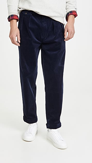 Polo Ralph Lauren Pleated Corduroy Trousers
