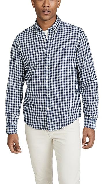 Polo Ralph Lauren Long Sleeve Double Face Plaid Shirt