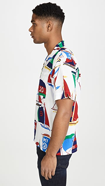 Polo Ralph Lauren Nautical Sail Print Shirt